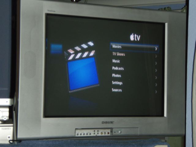 2005 Sony Wega TV http://www.maccast.com/2007/03/23/does-appletv-do-standard-def-now-its-maybe/