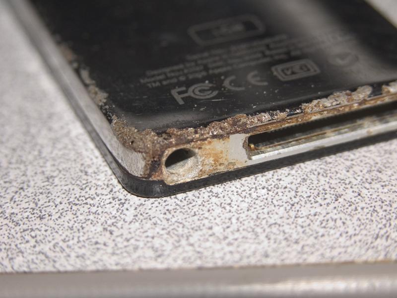 iPod Corrosion